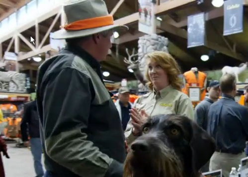 Last year's appearance at the Mitchell, SD Cabela's was also captured on Tom Brokaw's